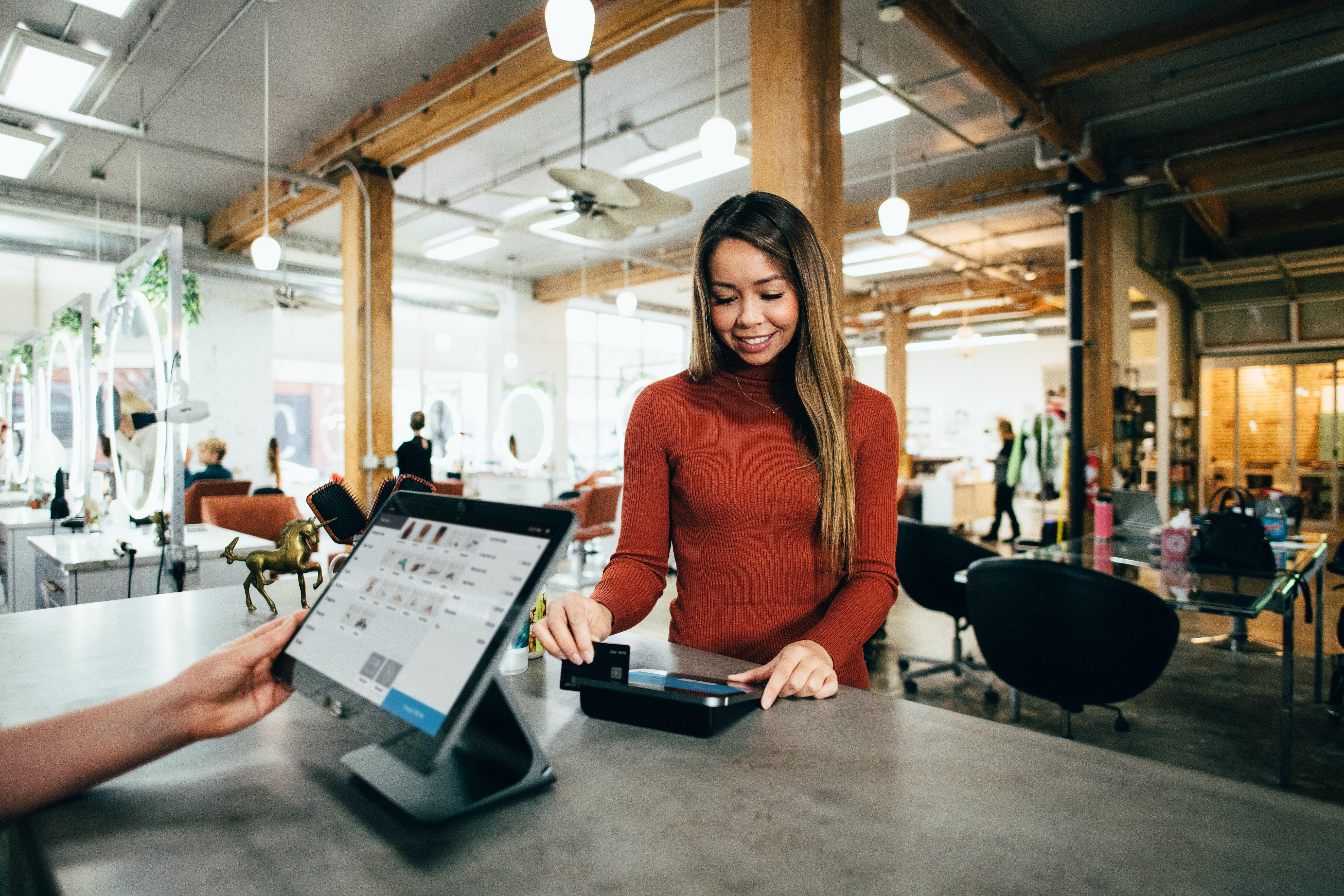 Customer At Counter