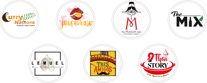 Flex Rewards Merchant Partner Logos