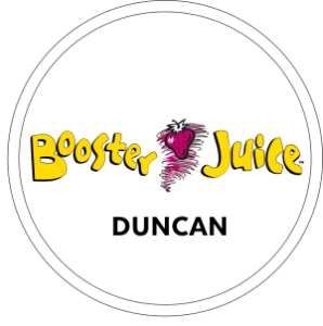 Booster Juice Duncan Logo