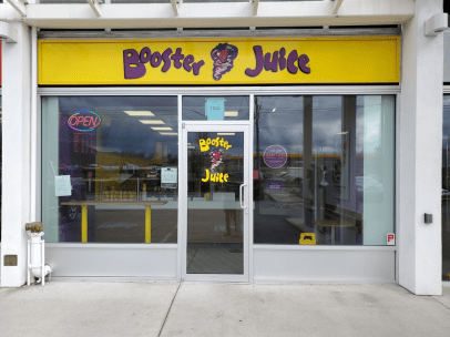 Booster Juice Duncan Store Front