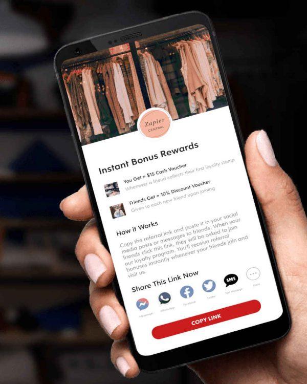 Screenshot of Bonus Rewards on Flex Rewards App